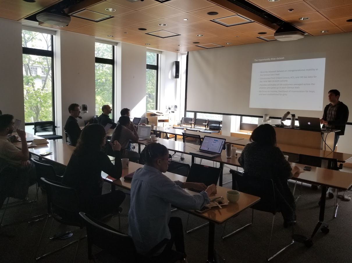 CSDS Study Group Presentations: 2019 | Spatial@UChicago | The