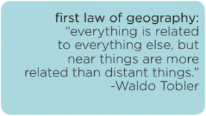 quote by Waldo Tobler